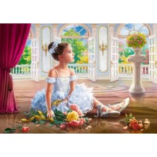 Комплект за рисуване по номера. Малка балерина – GX 34411