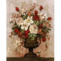 Рисуване по номера Цветя GX 5788