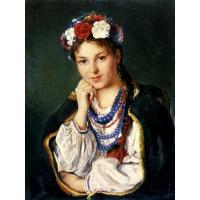 Славянска красота - диамантен гоблен LD 30408
