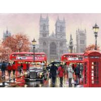 Лондон-Комплект за рисуване по номера GХ 8088
