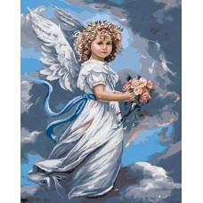 Комплект за рисуване по номера. Ангелче – GX 3232