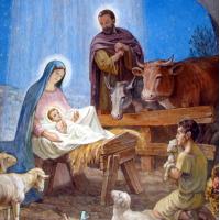 Рождество Христово- диамантен гоблен IK 4013