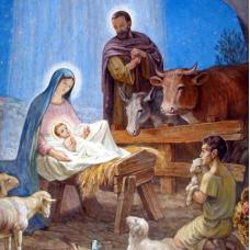 Рождество Христово- диамантен гоблен IK 4013-1