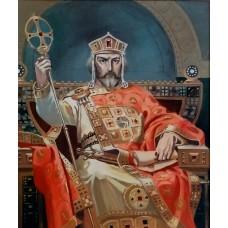 Величие на български хан-Диамантен гоблен LD 405003