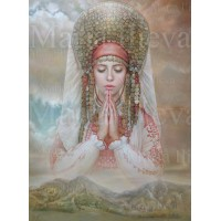 Комплект за рисуване по номера. Молитва за България – GX 35535