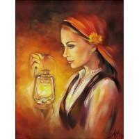 Светлинка- Диамантен гоблен LD 405064
