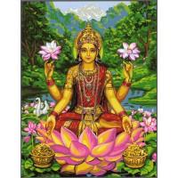 Лакшми - богинята на щастието и късмета- Комплект за рисуване по номера GX 31409