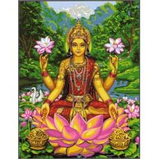 Комплект за рисуване по номера. Лакшми - богинята на щастието и късмета – GX 31409