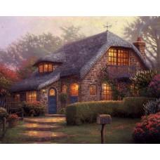 Къща - Диамантен гоблен PZ 40503
