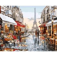Разходка в Париж Картина за рисуване по номера GX 4547
