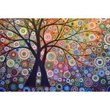 Комплект за рисуване по номера. Вълшебно дърво – GX 6962
