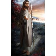 ИСУС БЛАГОСЛАВЯЩ- диамантен гоблен IK 40605