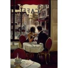 Комплект за рисуване по номера. Кафе в Париж – GX 7568