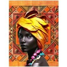 Африканско момиче - диамантен гобленLD 304047