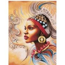Африканско момиче - диамантен гобленLD 304045