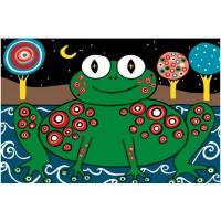 Рисуване по номера - жабка
