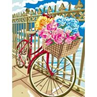 Комплект за рисуване по номера -Цветно колело