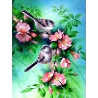 GI 304057  Диамантен гоблен -Птици