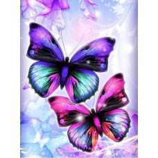 GI 304043 Диамантен гоблен - Пеперуди