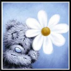 GI 303014 ДИАМАНТЕНИ ГОБЛЕНИ- Шарено мече с цвете