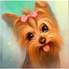 GI 303039  Диамантен гоблен - Мило кученце