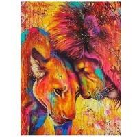 GI 304068  Диамантен гоблен -Лъв