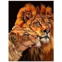 GI 304069  Диамантен гоблен -Лъв