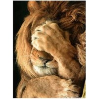GI 304071  Диамантен гоблен -Лъв