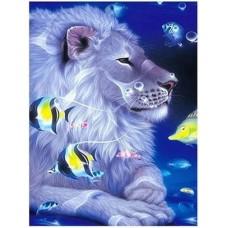 GI 304072  Диамантен гоблен -Лъв