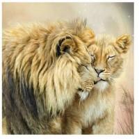 GI 303050  Диамантен гоблен -Лъв