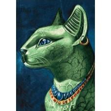 GI 203041 Диамантен гоблен - Египетска котка