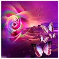 Пеперуди- диамантен гоблен LD 304066