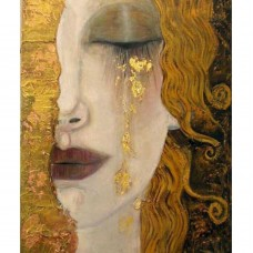 Златни сълзи на Густав Климт- диамантен гоблен LD 34045
