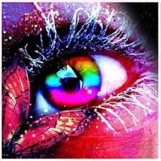 Прекрасни очи- диамантен гоблен LD 304069