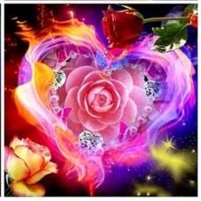Прекрасни рози- диамантен гоблен LD 304071