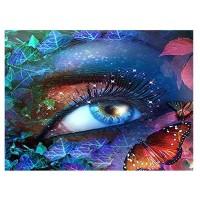 Очи с пеперуди- диамантен гоблен LD 304062