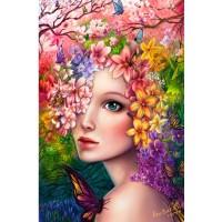 LD 203039 Диамантен гоблен - Пролетна красота