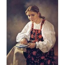 РУСКА ШИВАЧКА - Диамантен гоблен LD 405022