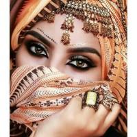 Красиви очи- ДИАМАНТЕНИ ГОБЛЕНИ- LD 302025