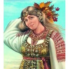 Славянска красота- Диамантен гоблен LD 304040