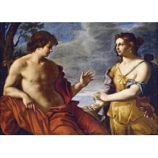АПОЛОН И КАСАНДРА -диамантен гоблен LD 705020