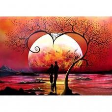 Вечер за влюбени - ДИАМАНТЕНИ ГОБЛЕНИ LD 203041 размер 30-40