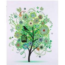 PZ 303055 Диамантен гоблен - Малко дърво