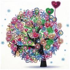PZ 303054 Диамантен гоблен - Малко дърво