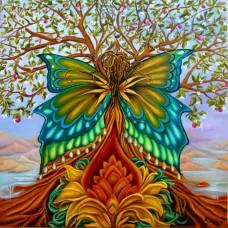 Диамантен гоблен - Дърво на живота
