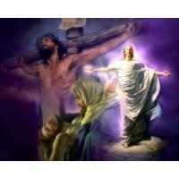 ВЪЗСКРЕСЕНИЕ ХРИСТОВО - Диамантен гоблен  IK 405013