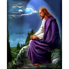 ИСУС МИСЛИ ЗА ХОРАТА - Диамантен гоблен IK 40506