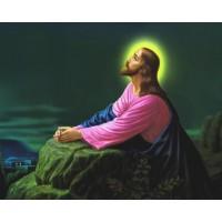 МОЛИТВА НА ИСУС - Диамантен гоблен IK 40509