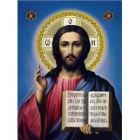 IK 304026 Диамантен гоблен-Икона на Исус Христос