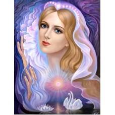 Нощен ангел-Диамантен гоблен IK 304017
